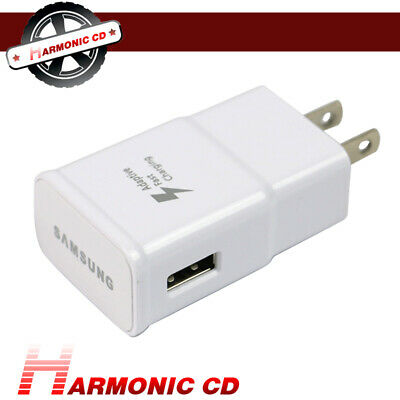 Original Samsung Fast Adaptive Wall Charger For Galaxy Note 4 Edge S6 S7 A5+