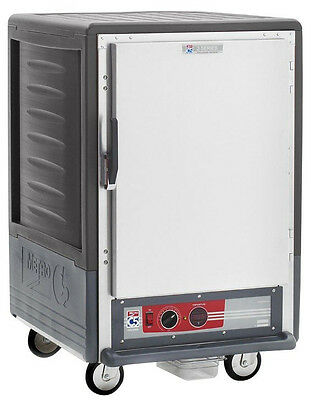 Metro C535-hfs-l-gy 1/2 Height Heated Holding Cabinet W/ Lip Load Pan Slides