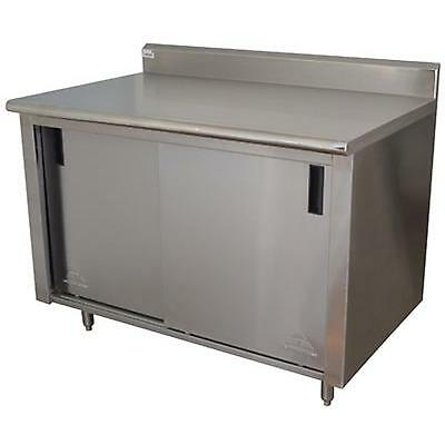Advance Tabco Cb-ss-306 Advance Tabco 72in X 30in Cabinet Base W/ Sliding Doors