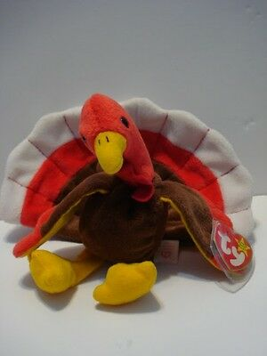 Ty Beanie Baby Gobbles Retired 1996