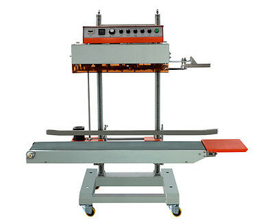 110v/220v automatic vertical film sealing machine suit heavy or large bag