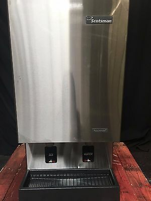 Scotsman Mdt5n40w-1b Countertop Water Cooled Ice Machine And Water Dispenser