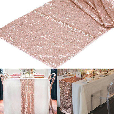Таблица Runners Gold/Silver/Champagne Sequin Table Runner