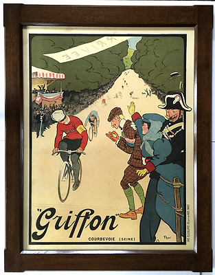 Griffon Bicycle Race Vintage Poster