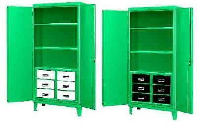 six drawer green monster steel cabinets, gm6d 482472