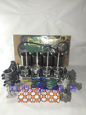 Kubota V2203 V2203e  Idi Engine Rebuild Kit&con-rods & Water Pump & Oil Pump