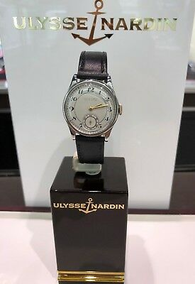 Ulysse Nardin Locle Suisse 235392 Swiss Very Old Watch Unique Automatic 33mm