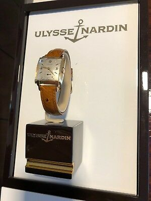 Ulysse Nardin Chronometre Swiss Very Old Gold Watch Unique Automatic