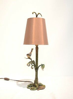 New Box Jay Strongwater Bird In The Tree Lamp Shade Frederica Furnishings Flora