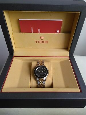 vintage tudor mini sub ref 9440 100%swiss divers collectible box papers by rolex