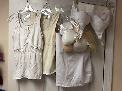 Prosthetic Bra And 3 Tanks One Tank Nwt Benefits Charity Usa Seller Free Shippng