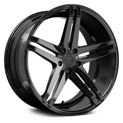 "20"" Verde V39 Parallax Gloss Black Wheels For Mercedes W205 C43 C63 Sedan Coupe"
