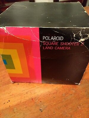vintage camera polaroid square shotters collectible! 70