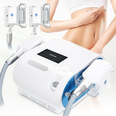 Cold Cooling Freeze Fat Removal Cellulite Slimming Machine Two Touch Handles Spa