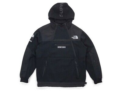 supreme x the north face (tnf) steep tech fleece hoodie nwt 100% authentic