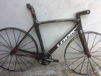 Look 695 Carbon Original Frameset S Size Very Nice Condition