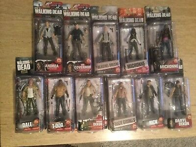 The Walking Dead Series Daryl Dixon Mcfarlane Toy & Many Extra Figures