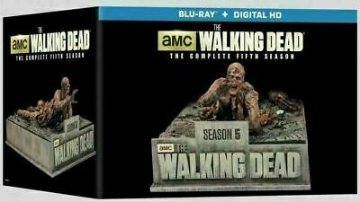 The Walking Dead - Season 5 Limited Edition [blu-ray] New And Sealed!!!