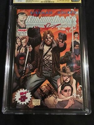 Walking Dead 4x Cast Signed Lincoln, Reedus, Gurira, 9.8 Cgc Ss Autograph Amc Tv