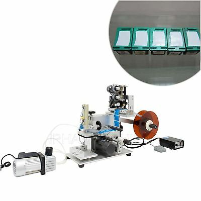 Labeler Mt-60m Semi Automatic Plane Flat Surface Labeling Machine With Printer