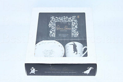 Exclusive Russian Imperial Lomonosov Porcelain Tea Cup Saucer Duel Eugene Onegin