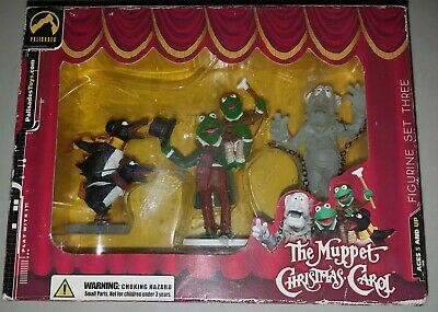 Muppets Christmas Carol Collectible Figurines & Dvd