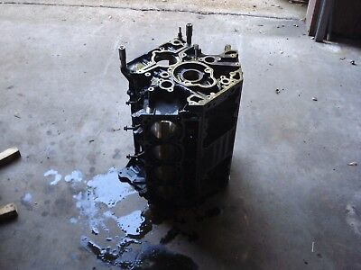 03-04 Ford F Series Excursion 6.0 Powerstroke Diesel Bare Engine Block Oem