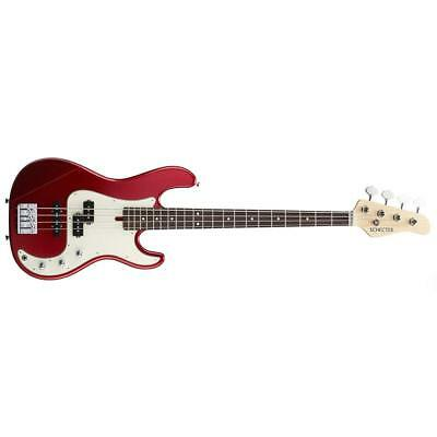 Schecter N-pj-al/r Candy Apple Red Electric Bass Free Shipping