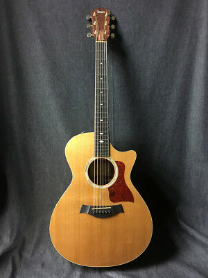 Taylor 2012 512ce Western Red Cedar Top Natural With Hard Case