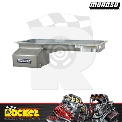 Moroso Fabricated Steel Front Sump Oil Pan (chev Ls) - Mo20146