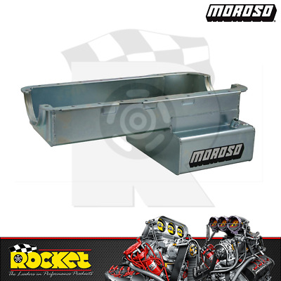 Moroso Fabricated Steel Front Sump Oil Pan (ford 351w) - Mo20536