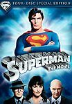 Dc Comics Superman: The Movie (4 Dvd Special Edition Christopher Reeves Rare Oop