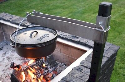 Brickwood Box- Cast Iron Pot Extension For Dutch Oven Cooking & Dutch Oven Bread