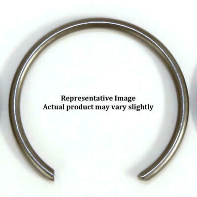 "Je Piston Wrist Pin Retainer 787-063-mw; .787"" .063"" Chrome Silicon Wire Lock"