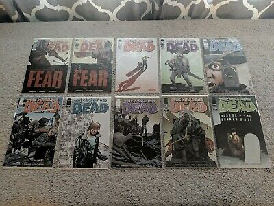 The Walking Dead Comic Lot #101-180 +variants.. Alpha. Whisperers. Commonwealth.