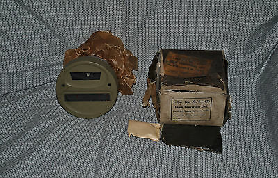 Yankee Blackout Light Tail Marker Lens Wwii Military Jeep Willys Ford Gpw 6 Volt