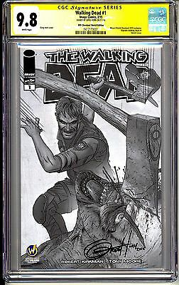 The Walking Dead #1 Cgc Ss 9.8 Greg Horn Wizard World Exclusive 2015 Reprint