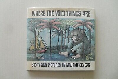 Where The Wild Things Are By Sendak 1st Ed., 1963 With Price & Points - Uncommon