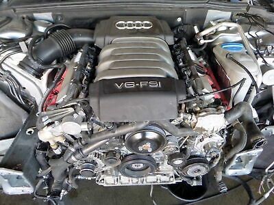 09-11 Audi B8 A4 3.2 Cala Engine Motor 33k Bad Compression Long Block Only