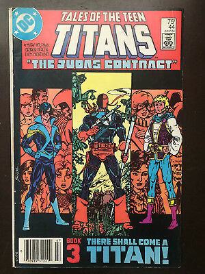 Tales Of The Teen Titans 44 1984 Variant Dc Comic 1st Nightwing Mj Mark Jewelers