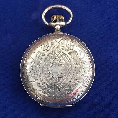 Super Rare Antique Imperial Russia 84 Silver Petrovskie Invincible Pocket Watch