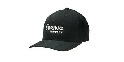 The Boring Company Hat (limited Edition - Sold Out) - Set Of 3 Original Sealed