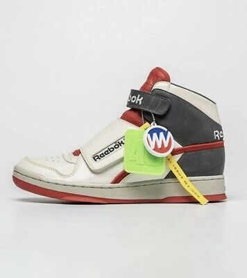 "Reebok Alien Stomper ""bishops"" 40th Anniversary Mid Size 8.5 Us Men,confirmed!!!"