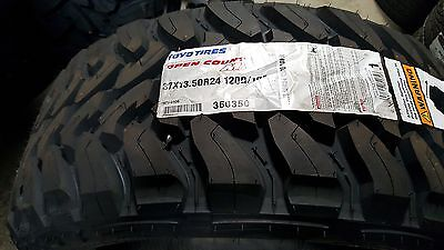 4 New 37x13.50r24 Toyo Open Country M/t Mud Tire 37 13.50 24 Lrd 8ply