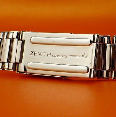"""Rare """" Zenith """" S 58 New Old Stock Expanded Bracelet From 1959 Hard To Find !!!!"""