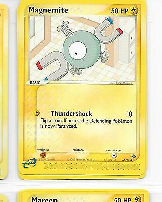 MAGNEMITE - 63/97 – Pokemon – Ex Dragon - NM = Buy more cards and save!