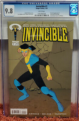 Invincible #1 (2003, Image) Cgc 9.8 Nm/mt 1st App Mark Grayson! Robert Kirkman