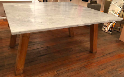Vintage Crate & Barrel + Paola Navone Marble Table