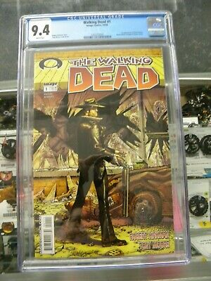 Walking Dead 1 Cgc 9.4 1st Print