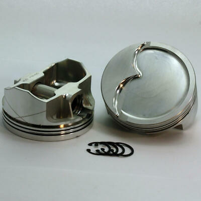 """Dss Racing Piston Kit K3-2943-4125; 4.125"""" Bore -15.0cc Dish For Chevy Ls7"""